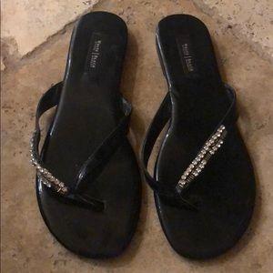 Lightly worn sandals